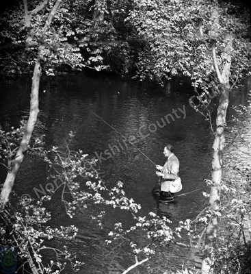 Fishing, River Nidd, Darley